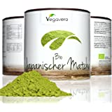 Bio Matcha Green Tea Powder | 100g Premium Quality Matcha Tea Powder | 100% Organic Matcha sourced from Japan | Use for Tea, Cooking, Baking and Smoothie Making! | 100% VEGAN & ORGANIC by Vegavero