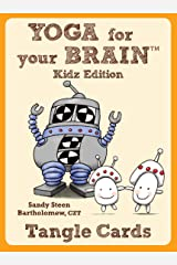Yoga For Your Brain Kidz Edition: Tangle Cards (Design Originals) Portable Deck of Kid-Friendly Zentangle (R) Cards in a Case; 40 Step-by-Step Tangling Patterns and Easy Beginner-Friendly Instructions Cards