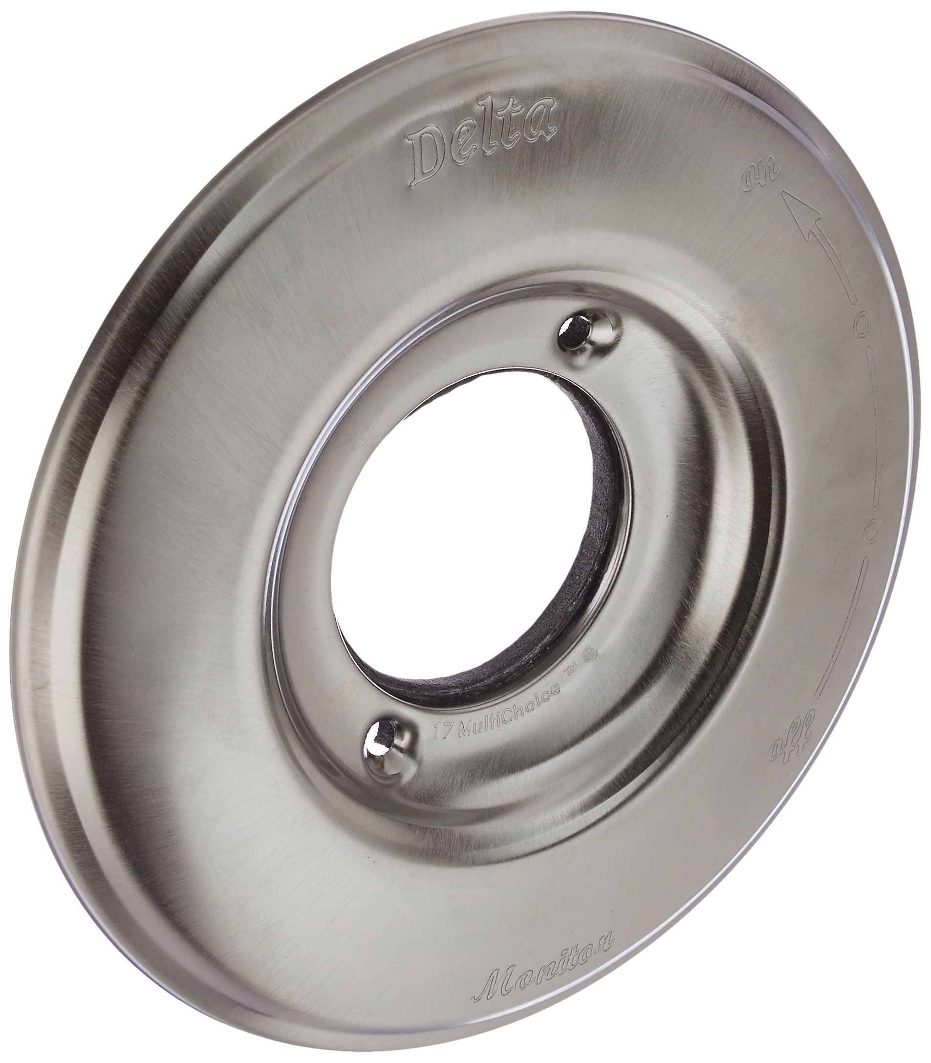 Delta Faucet RP34354SS Victorian Escutcheon for Delta 17 Series, Stainless
