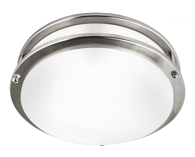 Hyperikon 12 Inch Ceiling Light, 75 Watt Replacement (20W), LED Flush Mount, 3000K, Dimmable, Energy Star