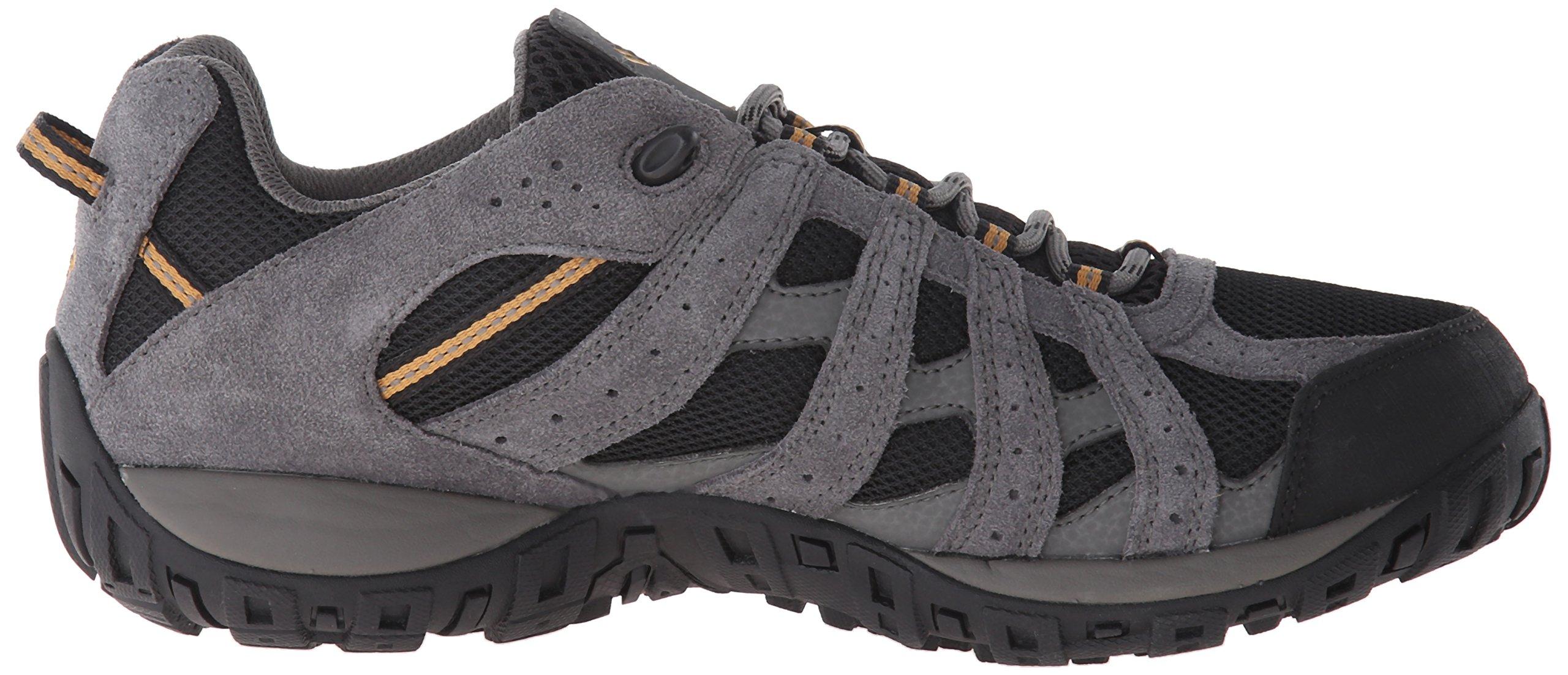 Columbia Men's Redmond Waterproof Hiking Shoe Black, Squash 7.5 D US by Columbia (Image #7)