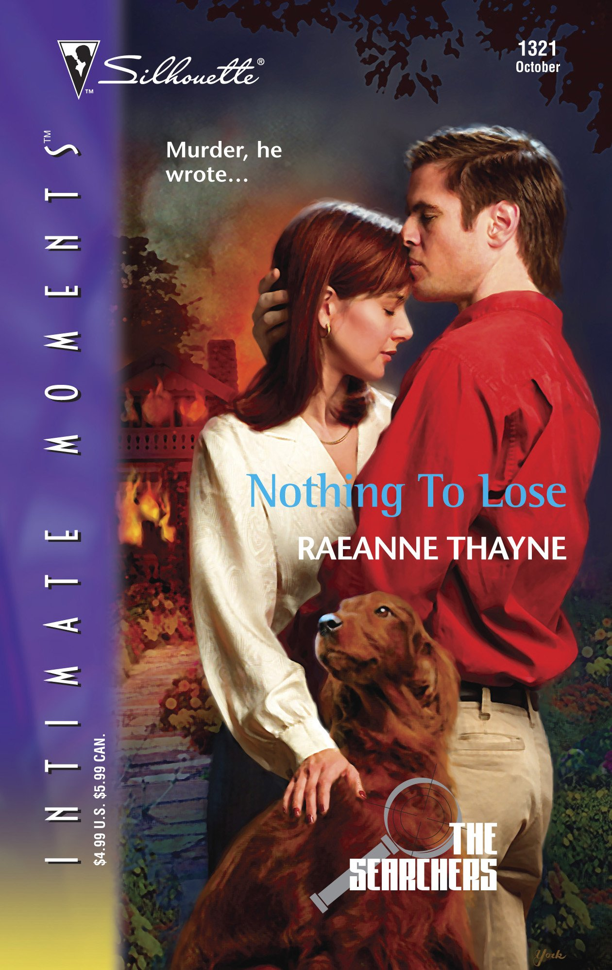 Nothing to Lose : The Searchers (Silhouette Intimate Moments No. 1321) pdf