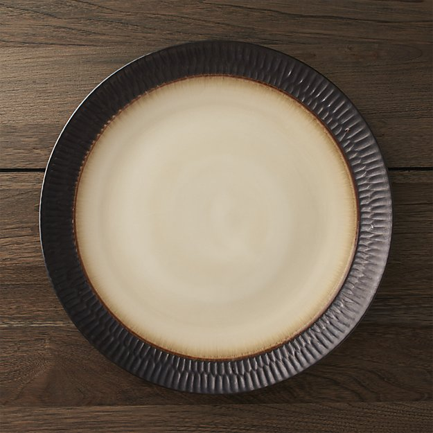 Scavo Round Platter | Crate and Barrel