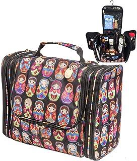 f57702897f92 Palcovi Matryoshkas Large Capacity Hanging Toiletry Bag Premium Large  Travel Essentials Organizer - Dopp Kit -