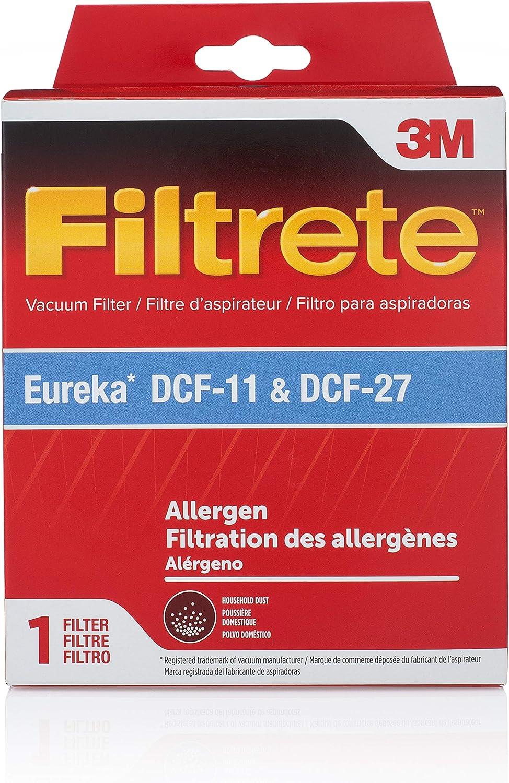 3M Eureka Style DCF-11 & DCF-27 Allergen Dust Cup Filter Pkg