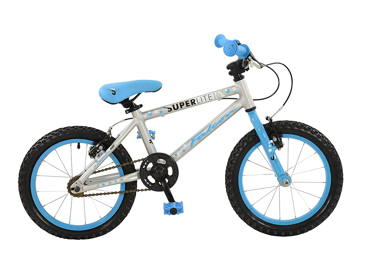 ファルコン少年Superliteバイク、シルバー、ブルー16 16シルバー&ブルー B01NADYW1D