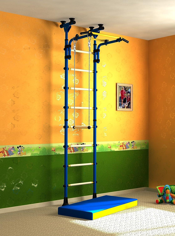 Indoor Klettergerüst Sprossenwand Turnwand für Kinderzimmer. Farbe ...