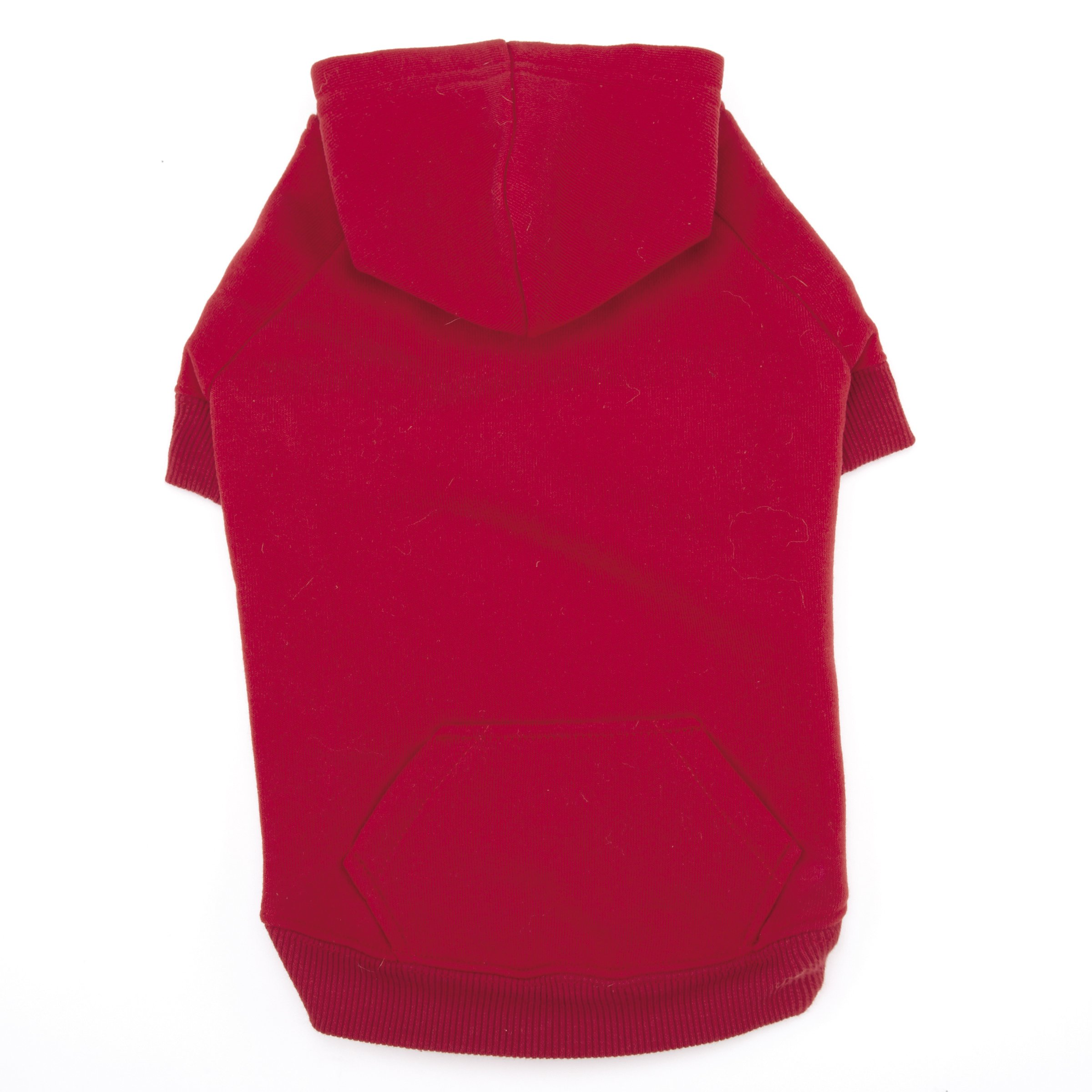 Casual Canine Basic Hoodie for Dogs, 24'' XL, Red