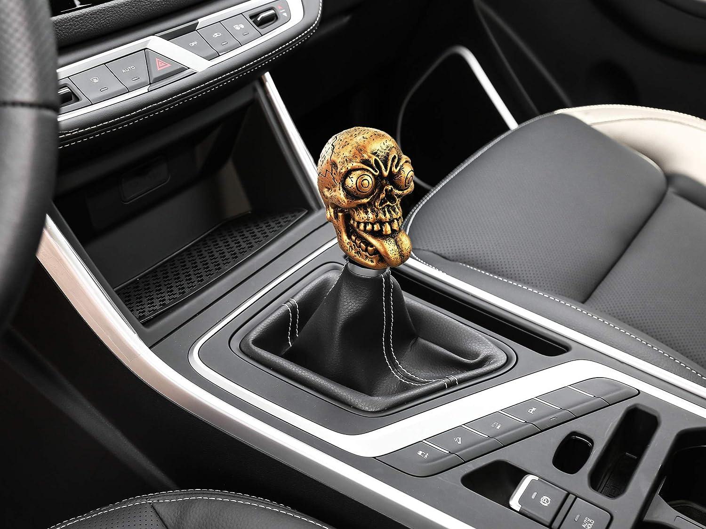 Abfer Car Knob Shifter Cool Skull Gear Stick Shift Knobs Fit Most ...