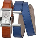 Michel Herbelin - COF17048/89OB - Montre Femme - Quartz - Analogique - Bracelet Cuir Orange