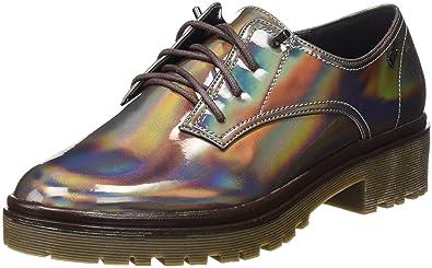 MTNG, Zapatos de Cordones Oxford para Mujer, Marrón (Sune Taupe), 38 EU