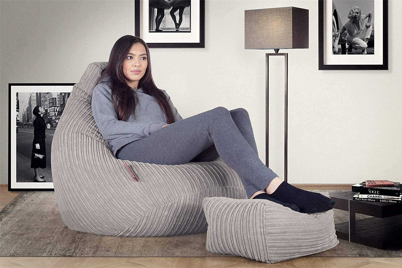 Cord Sand Lounge Pug/® Gaming Sitzsack Sessel