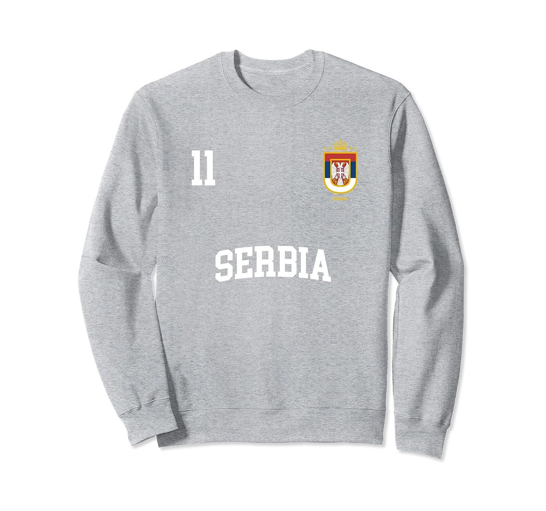 Serbia National Football Team Soccer Fans Long Sleeve T-Shirt Gift Idea
