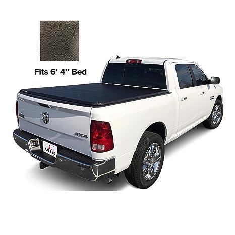 Leer Tonneau Cover >> Leer Latitude Soft Tri Fold Truck Bed Tonneau Cover 2009 2018 2019 Classic Style Dodge Ram 6 4 Latitude