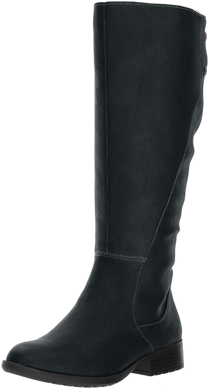 LifeStride Women's Xripley-Wc Riding Boot B071GMYTPS 8 W US|Black