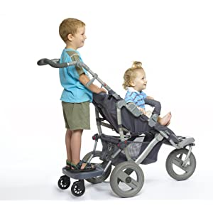 Hitchhiker Hitch Hiker Stroller Board E-Z Step with Universal Mount