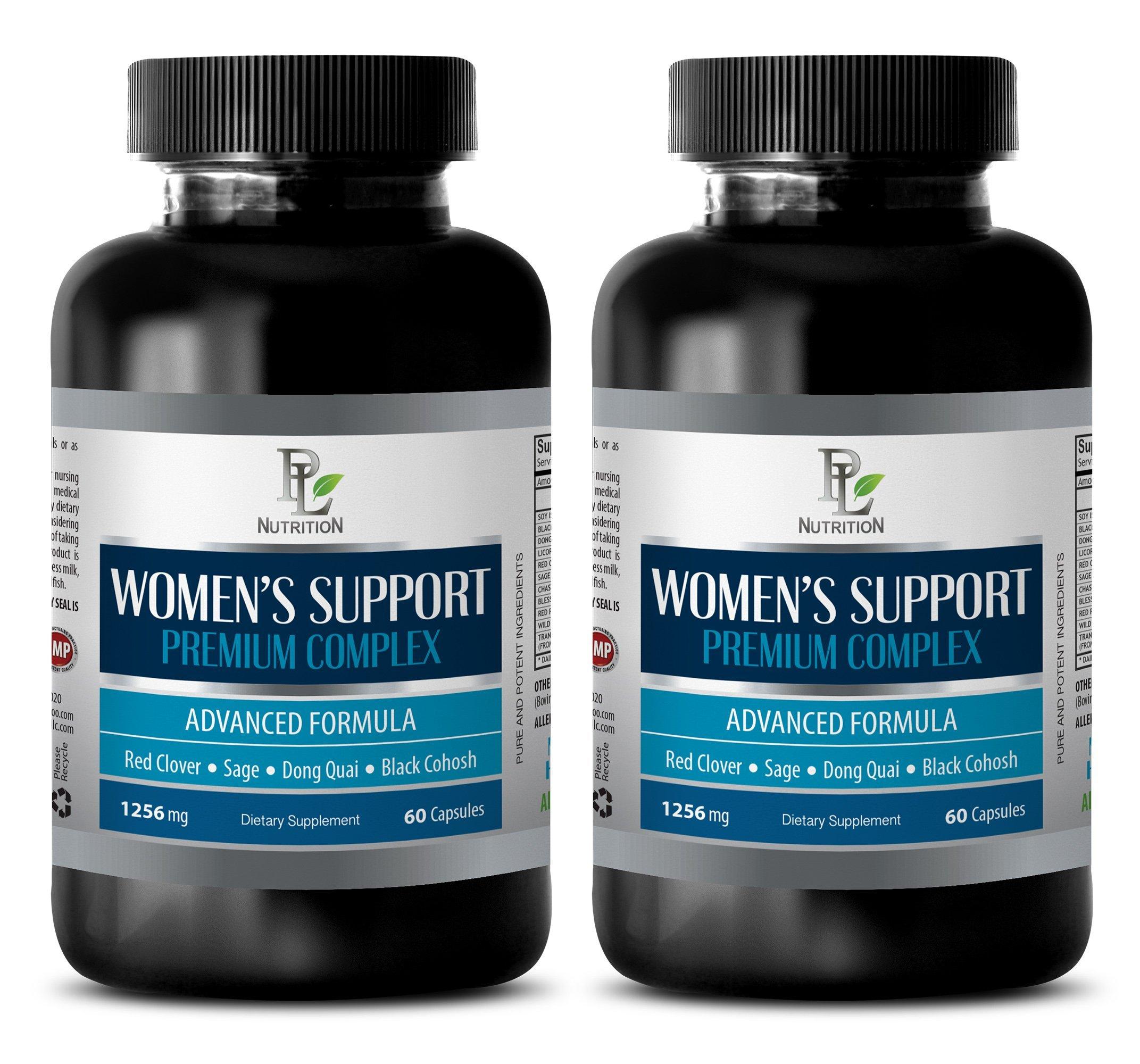 Immune Support for Women - Women's Support Premium Complex - Advanced Formula - Wellness Essentials Women - 2 Bottles (120 Capsules)