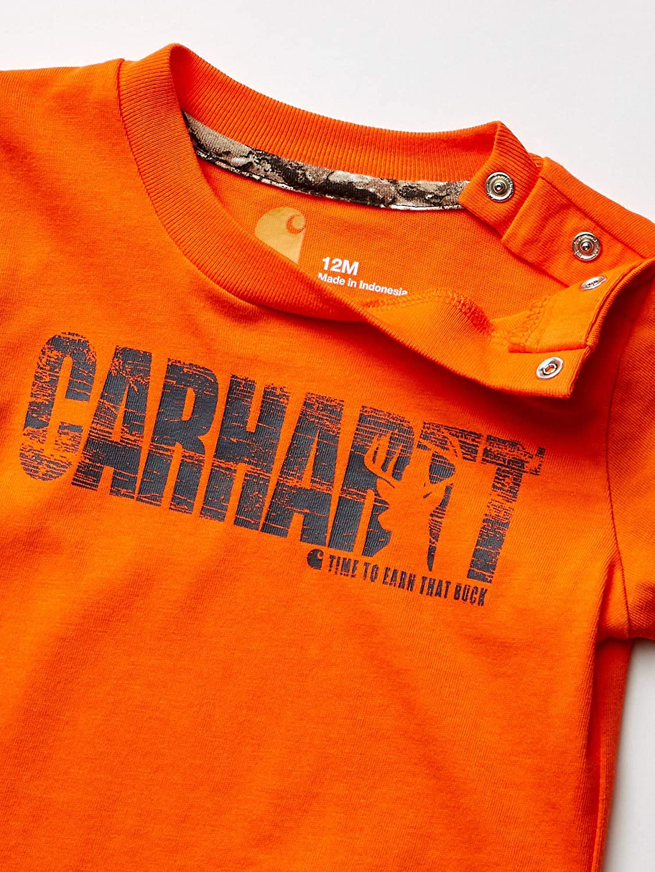 Carhartt Baby Boys Long Sleeve Bodyshirt