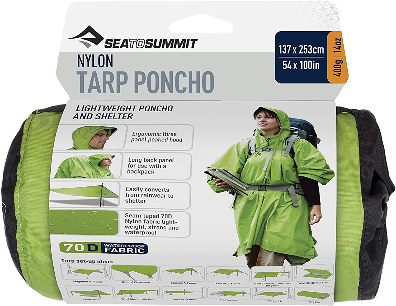 Sea to Summit Nylon Tarp Poncho 70D