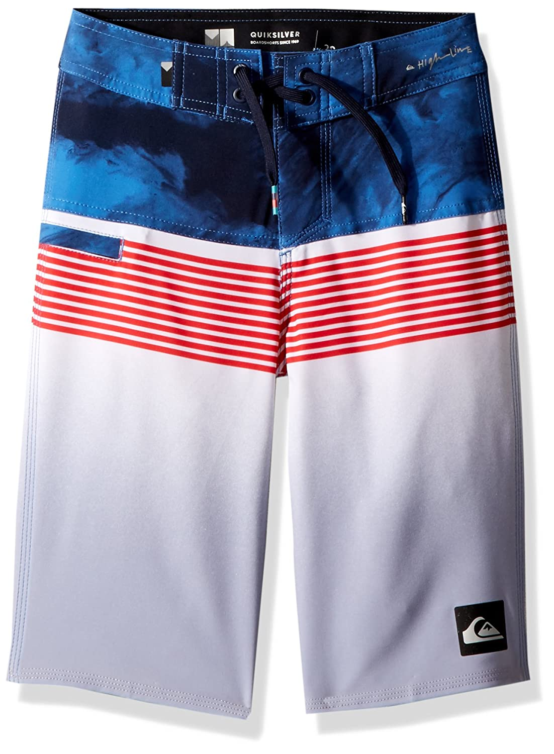 Quiksilver Boys' Big Highline Lava Division Youth Boardshort Swim Trunk