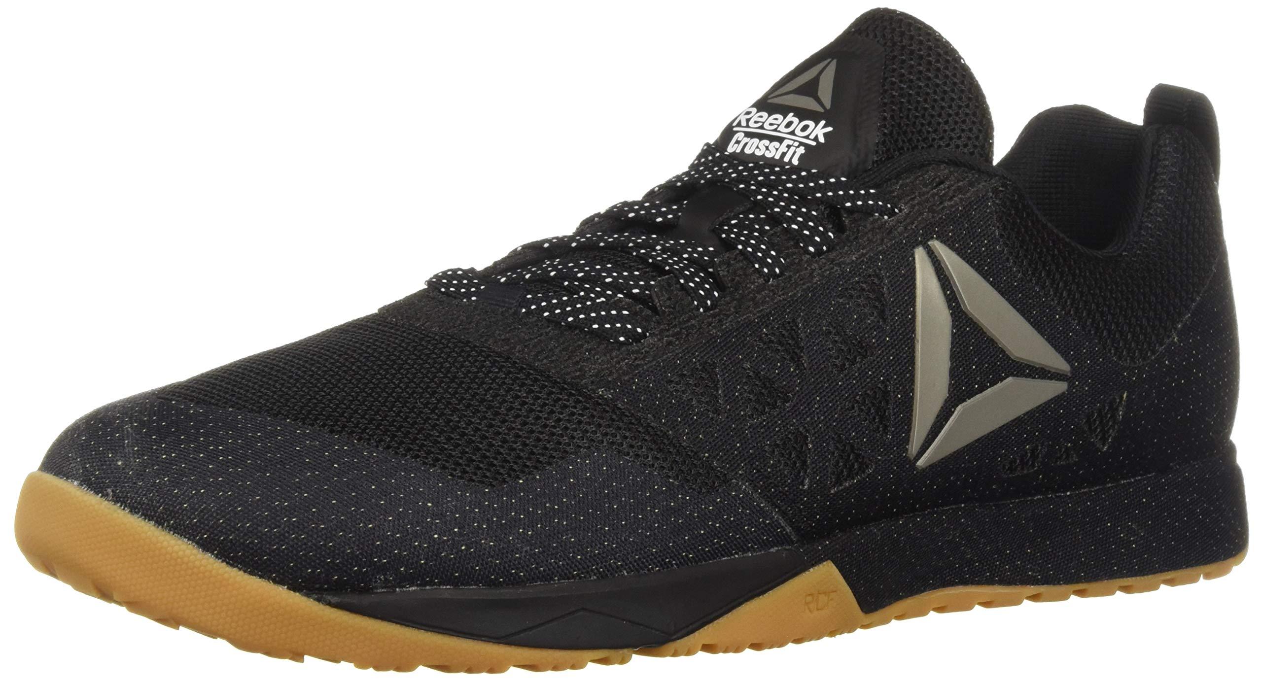 Reebok Men's CROSSFIT Nano 6.0 Climbing Shoe, Black/Gum, 10.5 M US