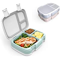 Bentgo Fresh 3-Meal Prep Pack - Versatile Compartment Lunch Box Set