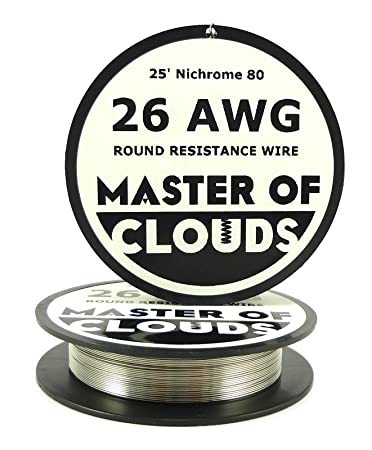 Nichrome 80 25 ft 26 gauge awg resistance wire 040mm 26g 25 nichrome 80 25 ft 26 gauge awg resistance wire 040mm 26g 25 keyboard keysfo Gallery