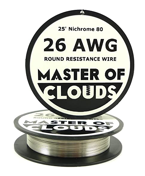 Nichrome 80 25 ft 26 gauge awg resistance wire 040mm 26g 25 nichrome 80 25 ft 26 gauge awg resistance wire 040mm 26g 25 greentooth Image collections