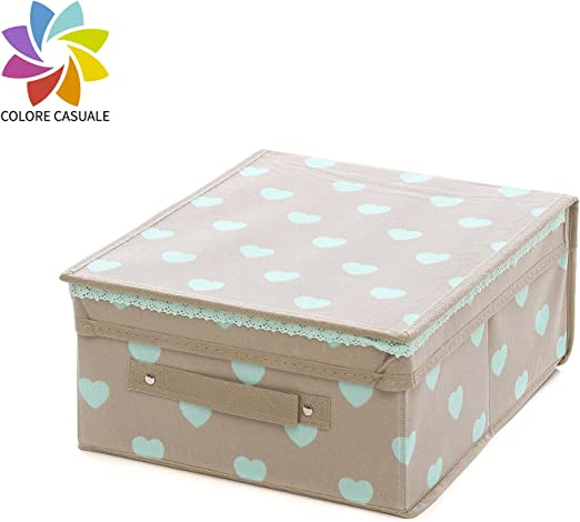 Caja almacenaje de 28 x 33 x 15 cm: Amazon.es: Hogar