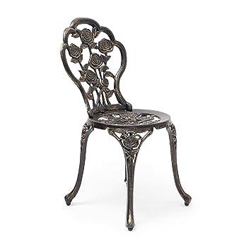 Relaxdays Chaise De Jardin Bistrot Style Ancien Antiquites Campagne Bar Terrasse Restaurant H