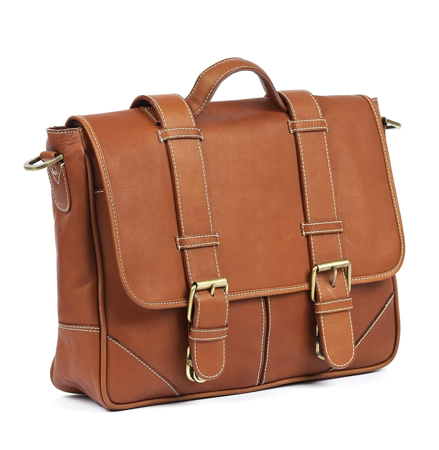 One Size Claire Chase Larado Messenger Distressed Brown