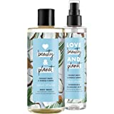 Love Beauty and Planet Body Wash and Cleansing Mist, Coconut Water & Mimosa Flower, 2 count