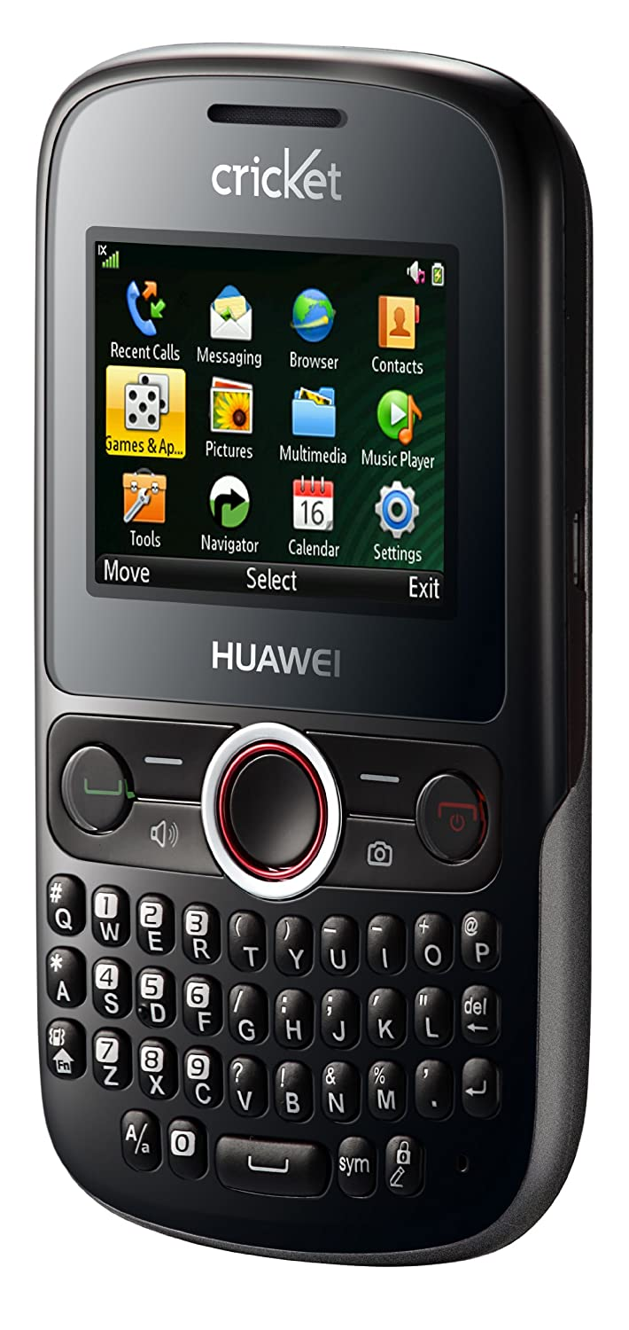 Huawei M615 Pillar Prepaid Phone (Cricket): Amazon.ca: Cell Phones &  Accessories