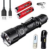 Klarus xt11gt CREE xph35Hi D42000lumens 18650LED tactique lampe torche rechargeable avec batterie 3100mAh + thenines USB Lumière