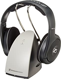 Sennheiser RS120 On Ear Wireless RF Headphones With Charging Dock Certified Refurbished