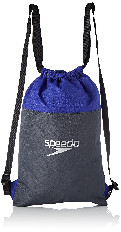 Speedo Pool Mochila, Unisex Adulto, Gris óxido/Azul Ultramar, Talla Única 8-09063C299