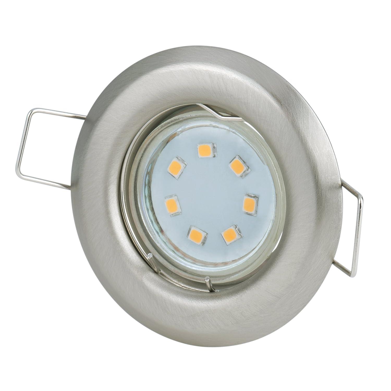 Recessed Spotlight Set Diameter 60 mm Hole Size: 40 - 45 mm 230 Volt ...