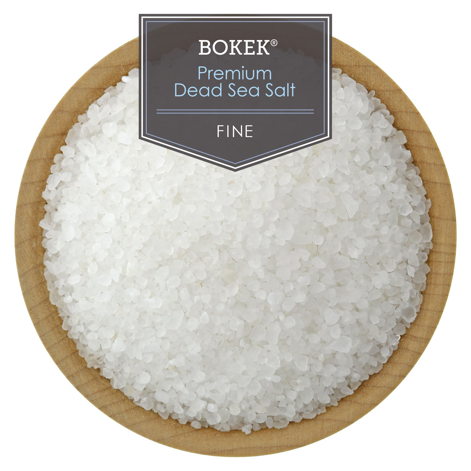 Bokek Dead Sea Salt, Fine - 55 lb Bag by SaltWorks (Image #4)