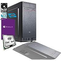 PC DESKTOP INTEL QUAD CORE 2,42 ghz CON LICENZA WINDOWS 10 PRO 64BIT ORIGINALE RAM 4GB HD 500GB MB MICRO ATX CON HDMI DVI VGA USB 500W COMPLETO ASSEMBLATO PRONTO ALL'USO VELOCE COMPLETO PER USO UFFICIO CASA AZIENDA AGENZIA SCOMMESSE INTERNET