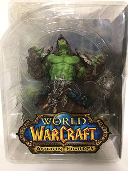 World Of Warcraft Orc Shaman Rehgar Earthfury Action Figure By Dc