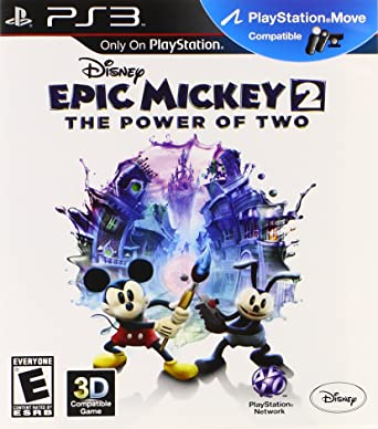0158c4d13e3bf Amazon.com: Disney Epic Mickey 2: The Power of Two - Playstation 3 ...