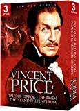 Vincent Price Triple Feature Gift Box (The Raven, The Pit and the Pendulum, Tales of Terror)