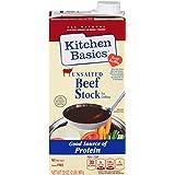 Kitchen Basics Unsalted Beef Stock, 32 fl oz