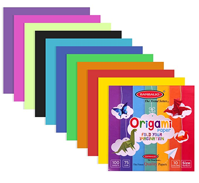 Bambalio Bori 100 Colour Paper Set A4 Size 75 Gsm Pack Of 400