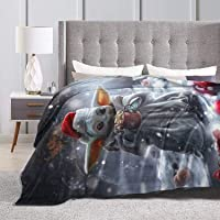 Sufei Star Yoda Baby Super Soft Warm Solid Blanket Sofa and beding Room Blanket Flannel Bed Sofa and Living Room for…