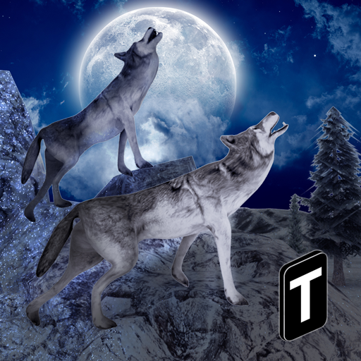 Angry Wolf Simulator 3D - Wolf Chase