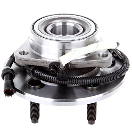 OCPTY Wheel Bearing Hub 515029 Front Bearing Assembly W/ABS 5 Lugs fit for  2000-2003 fit ford F-150, 2004 fit ford F-150 SVT Lightning, 2004 fit ford