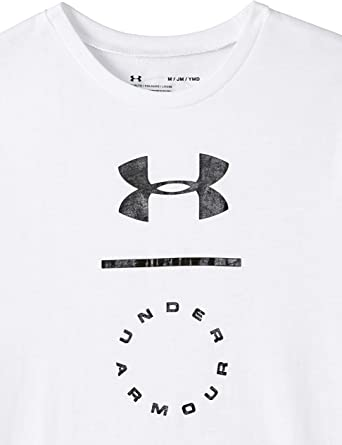 Under Armour Jungen Box Logo Ss Kurzarmshirt