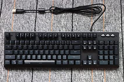 Amazon com : Votomy Gaming Keyboard USB Passthrough Linear and Quiet