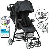 ZOE Umbrella XL1 Single Stroller, BEST - Black